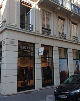 LYON 2° – Rue de Brest – Murs Commerciaux Loués