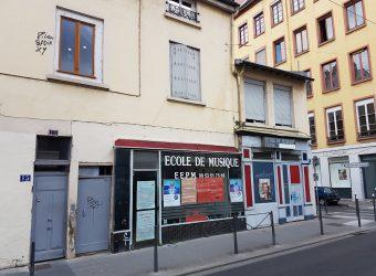 LYON 69004 – Rue Belfort – Murs commerciaux A VENDRE libres