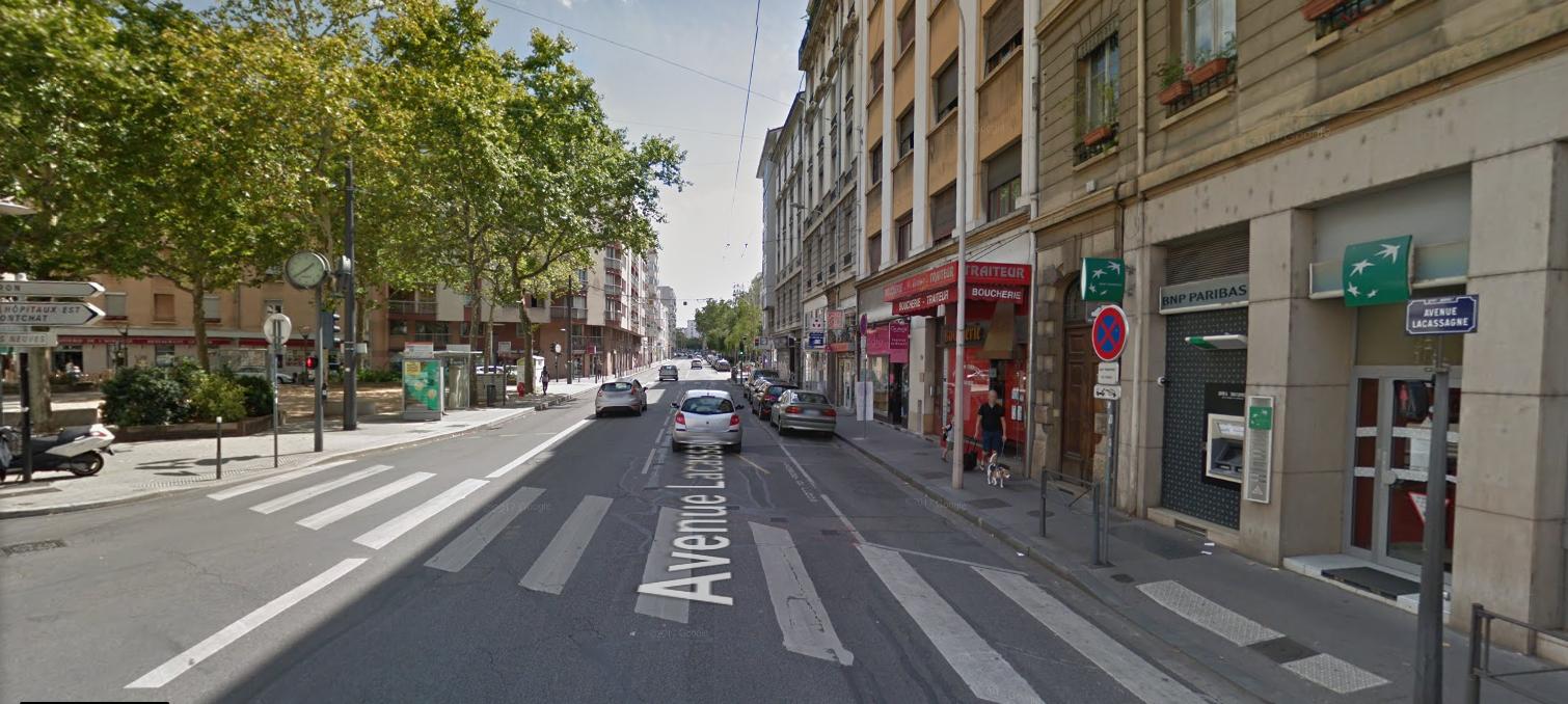 LYON 69003 – Avenue LACASSAGNE – A VENDRE murs commerciaux occupés