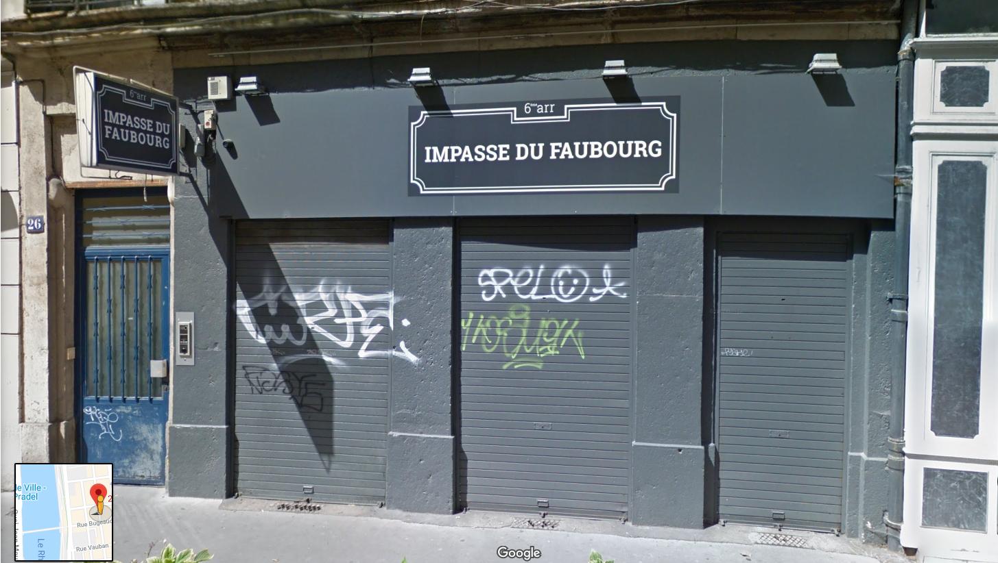 LYON 69006 – Rue Pierre CORNEILLE – A VENDRE murs commerciaux libres