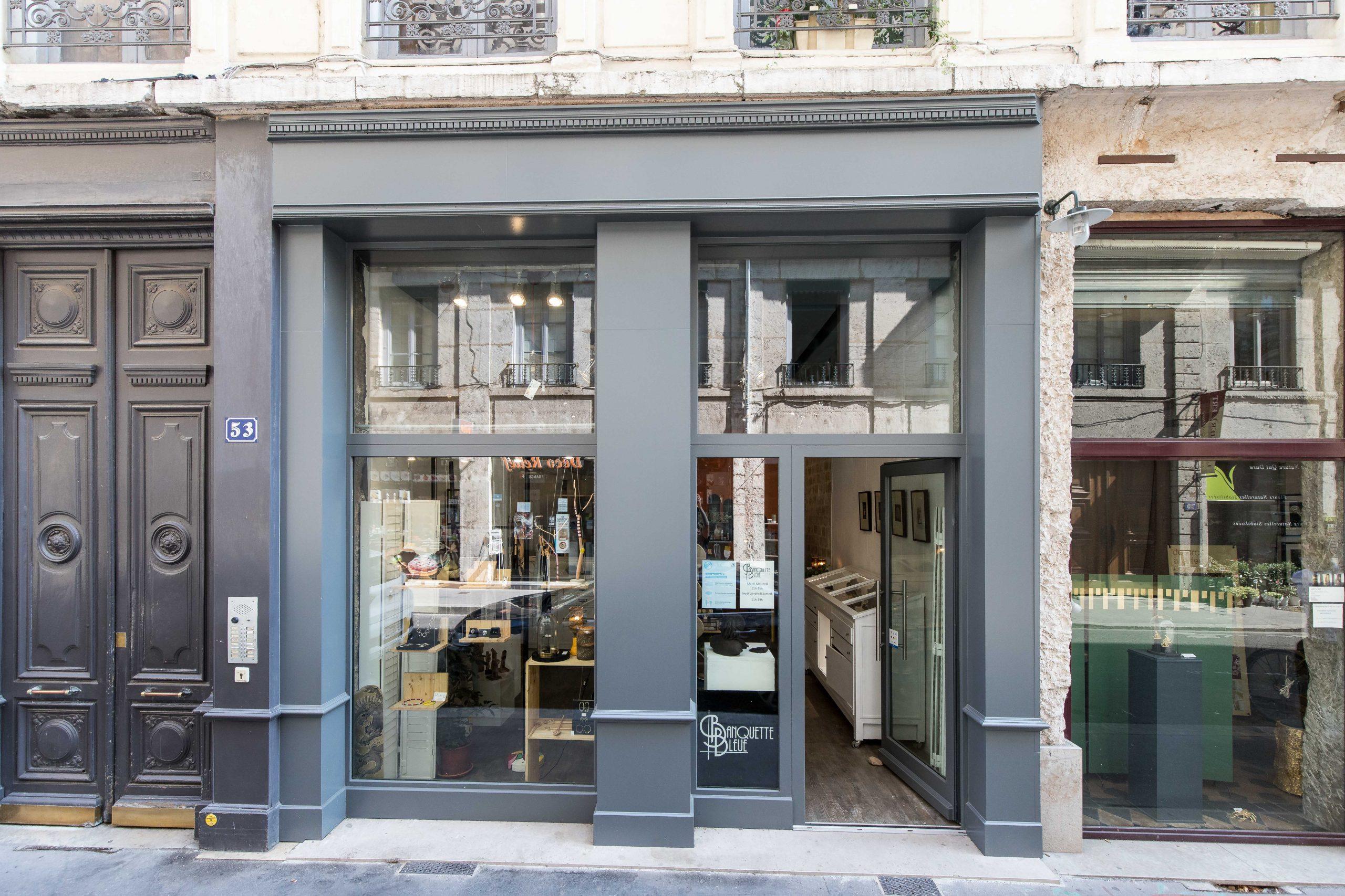 LYON 2ème,  53 rue Auguste COMTE, local commercial A louer, 63 m²