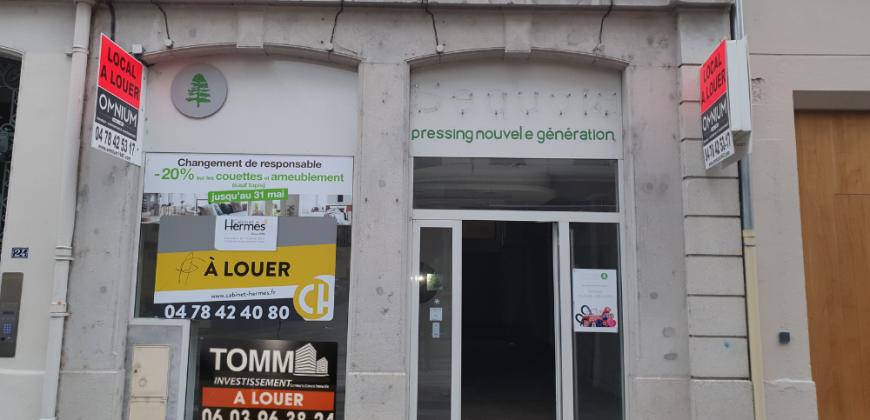 A LOUER – Local Commercial – 100 m² – RUE DE LA PART-DIEU – LYON 69003