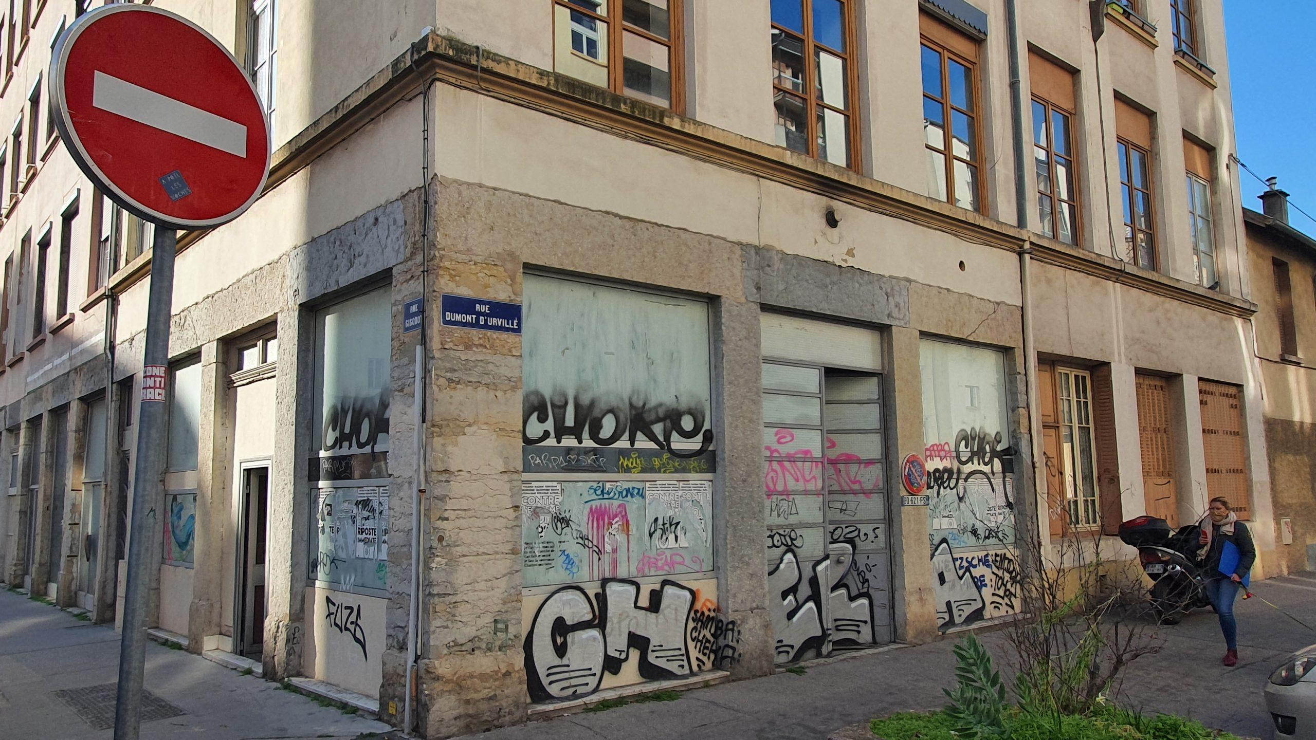 A VENDRE – Local Commercial – 92 m² – RUE GIGODOT – LYON 69004