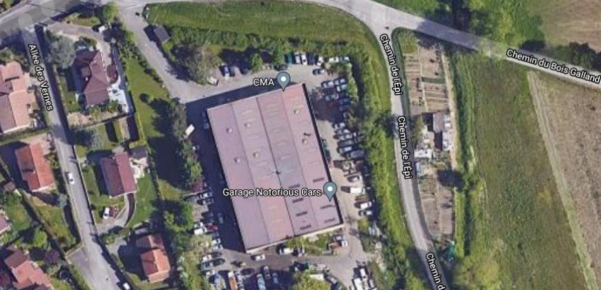 A VENDRE – Local d'activité – 1829 m² – RUE FRANKLIN – VAULX EN VELIN 69120