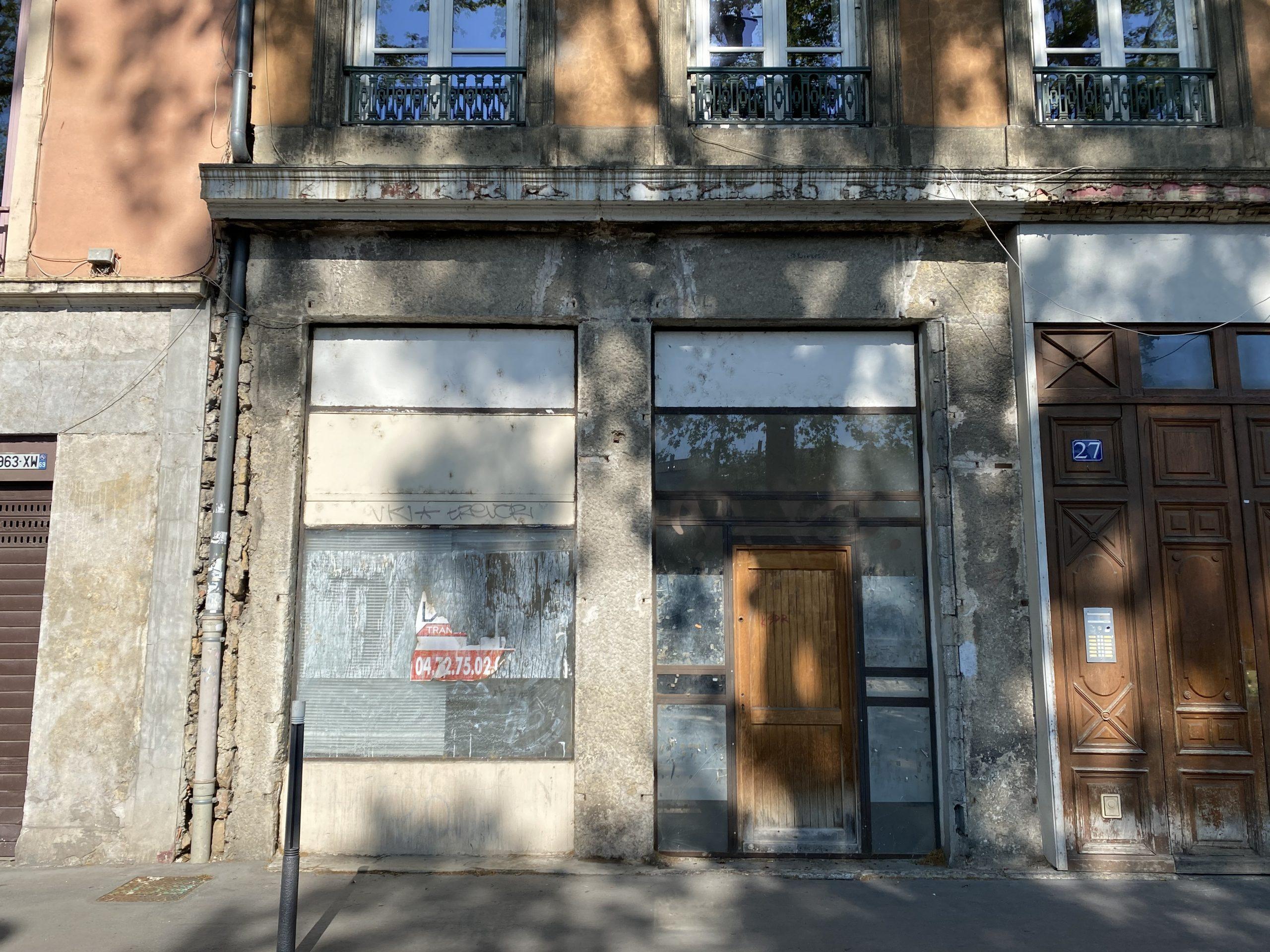A LOUER – Local commercial – 93 m² – QUAI FULCHIRON – VIEUX LYON 69005