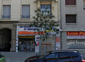 A LOUER – Local commercial – 143 m² – Cours Emile Zola – Villeurbanne 69100