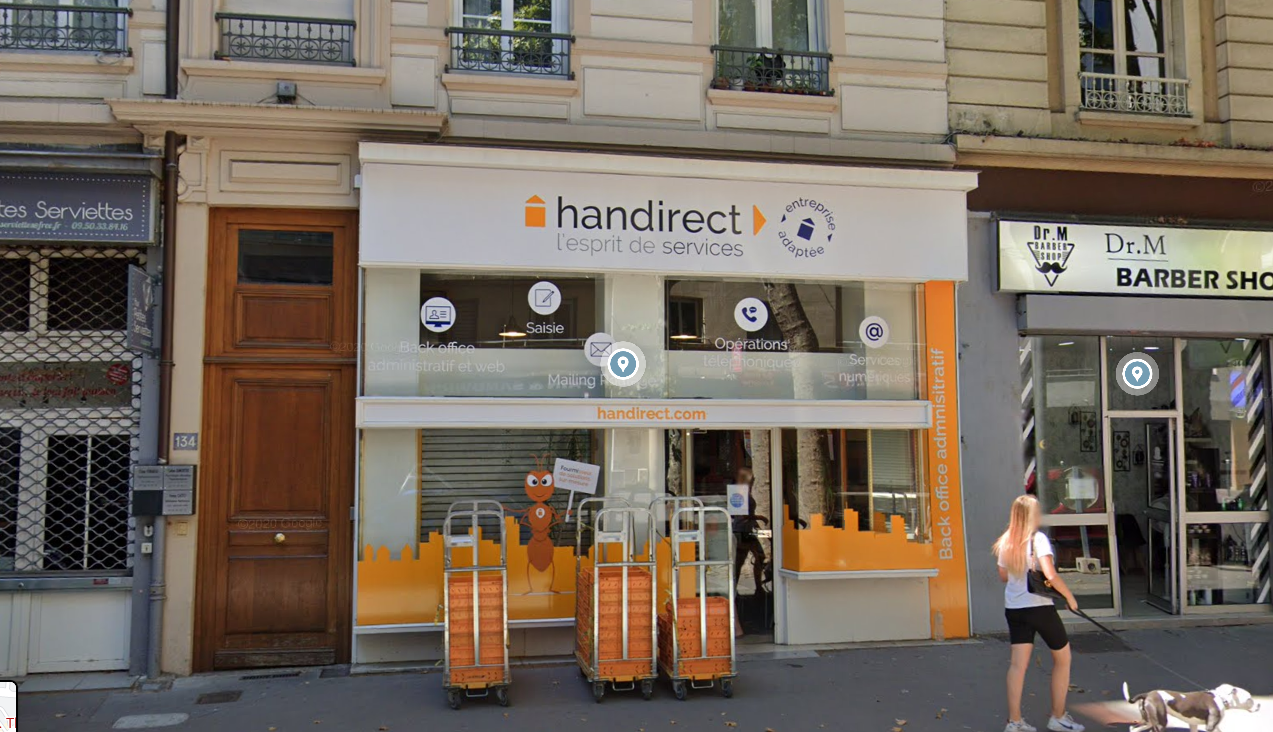 A LOUER – Local commercial – 127 m² – Avenue Thiers – LYON 6